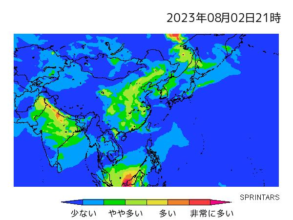 SPRINTARS aerosol forecast